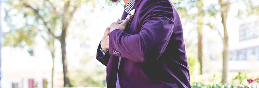 porter un blazer