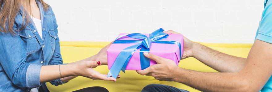 panoplie de cadeaux